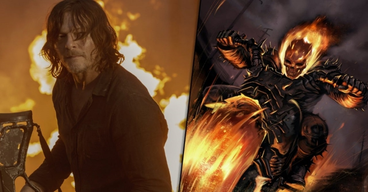 علاقه بسیار زیاد «نورمن ریدس» به ایفای نقش Ghost Rider