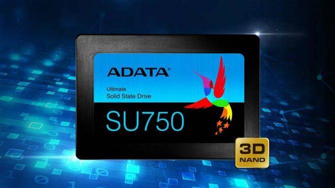 SSD با تکنولوژی ساتا ایدیتا مدل SU750
