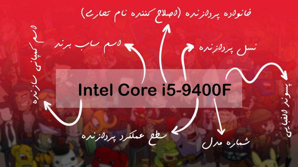 نام گذاری پردازندههای اینتل (Intel)