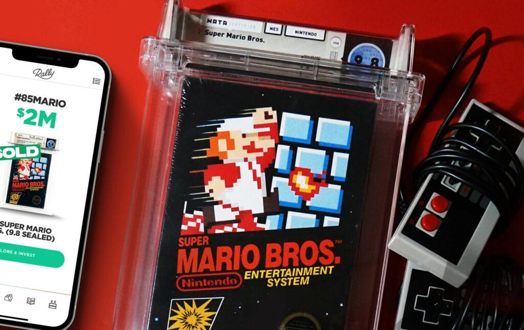 یک نسخه از بازی Super Mario Bros به قیمت ۲ میلیون دلار فروخته شد
