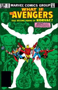 کاور کمیک What If Avengers Had Become the Pawns of Korvac? (برای دیدن سایز کامل روی تصویر کلیک کنید)