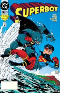 کینگ شارک روی کاور شماره ۹ کمیک Superboy (برای دیدن سایز کامل روی تصویر کلیک کنید)