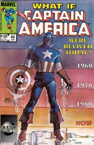 کاور کمیک What if Captain America Were Revived Today? (برای دیدن سایز کامل روی تصویر کلیک کنید)