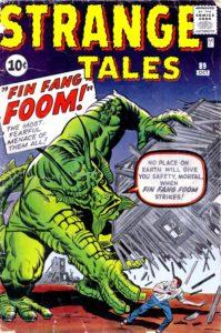 کاور شماره ۸۹ کمیک Strange Tales (برای دیدن سایز کامل روی تصویر کلیک کنید)