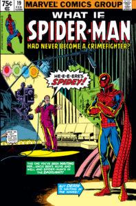 کاور کمیک What if Spider-Man Had Never Become a Crimefighter? (برای دیدن سایز کامل روی تصویر کلیک کنید)