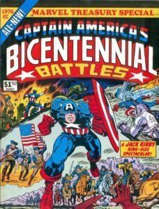 کاور کمیک Captain America: Bicentennial Battles (برای دیدن سایز کامل روی تصویر کلیک کنید)