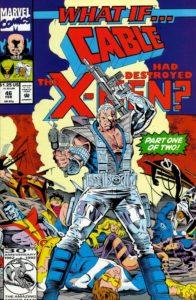 کاور کمیک What if...Cable Had Destroyed the X-Men? (برای دیدن سایز کامل روی تصویر کلیک کنید)