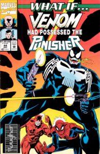 کاور کمیک What If... Venom Had Possessed the Punisher (برای دیدن سایز کامل روی تصویر کلیک کنید)