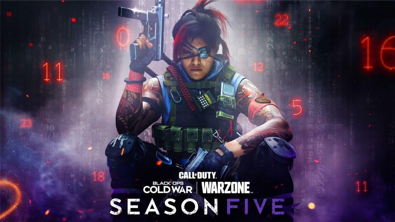 زمان انتشار فصل پنجم Black Ops Cold War و وارزون مشخص شد