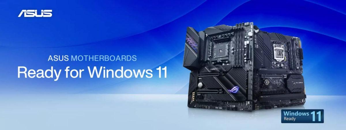 بروزسانی بایوس مادربردهای ایسوس برای سیستم عامل ویندوز 11 منتشر شد