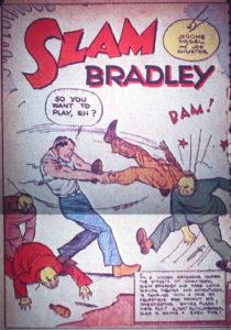 اسلم بردلی در شماره ۱ کمیک Detective Comics (برای دیدن سایز کامل روی تصویر کلیک کنید)