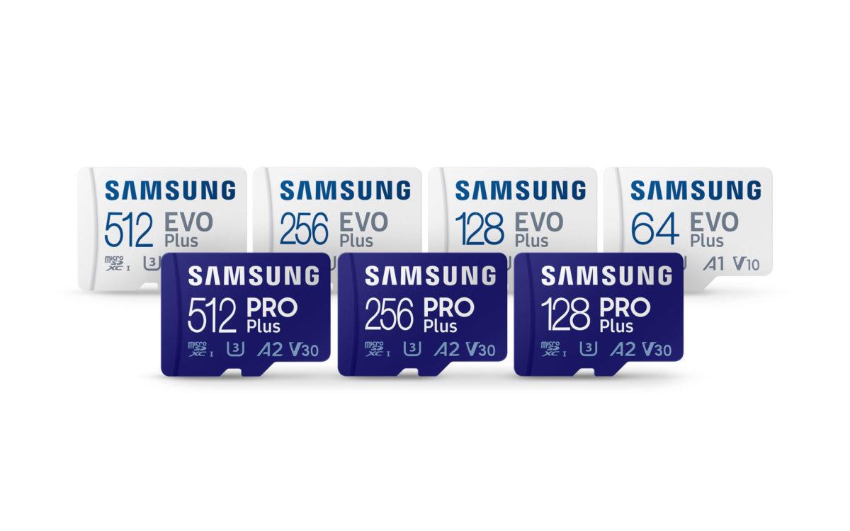 سامسونگ نسخه جدید کارتهای حافظه میکرواسدی PRO Plus و EVO Plus را معرفی کرد