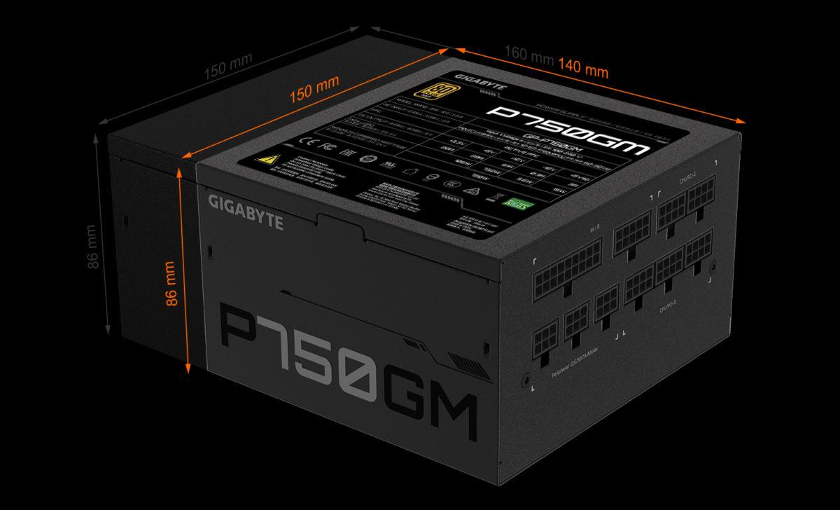 گیگابایت یک بیانیه رسمی برای دو منبع تغذیه GP-P850GM و GP-750GM منتشر کرد