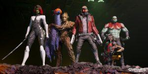 حجم بازی Guardians of the Galaxy روی پیسی مشخص شد