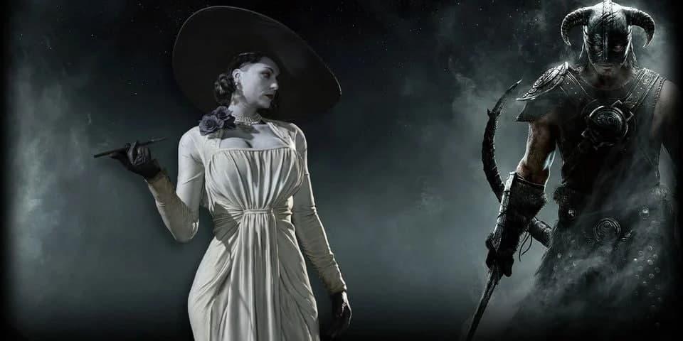 ماد بازی Skyrim شخصیت Lady Dimitrescu را به آن اضافه میکند
