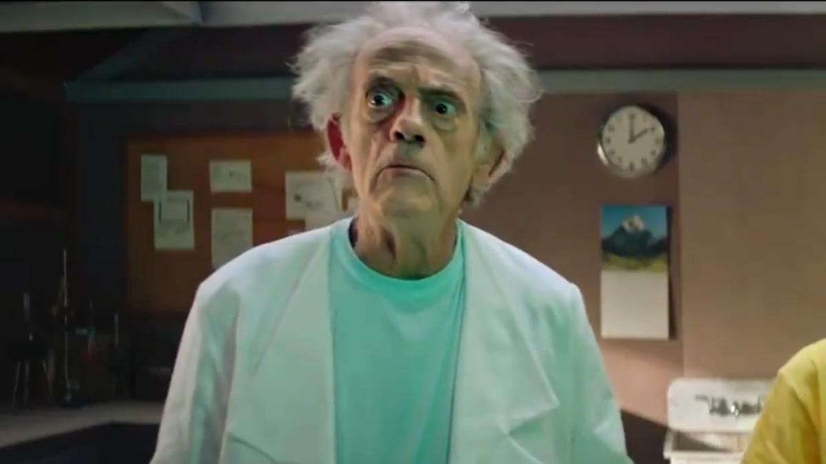 ویدیو جدید Rick and Morty کریستوفر لوید را در نقش دانشمند دیوانه قرار میدهد