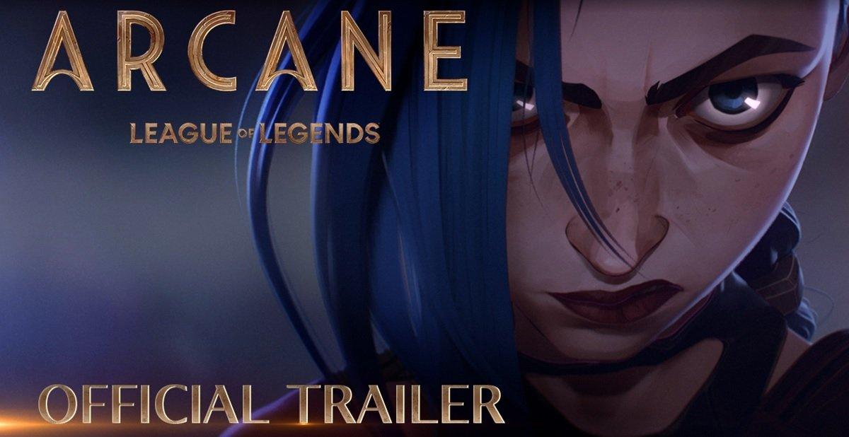 تریلر جدیدی از انیمه Arcane منتشر شد