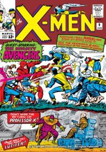 کاور شماره ۹ کمیک Uncanny X-Men (برای دیدن سایز کامل روی تصویر کلیک کنید)