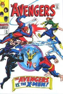 کاور شماره ۵۳ کمیک Avengers (برای دیدن سایز کامل روی تصویر کلیک کنید)