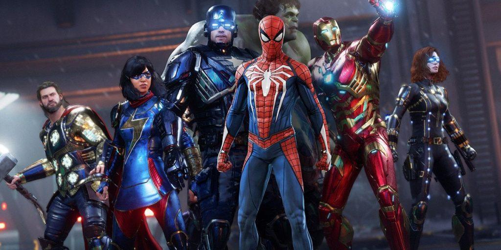 تصویری از شخصیتهای بازی Marvel's Avengers