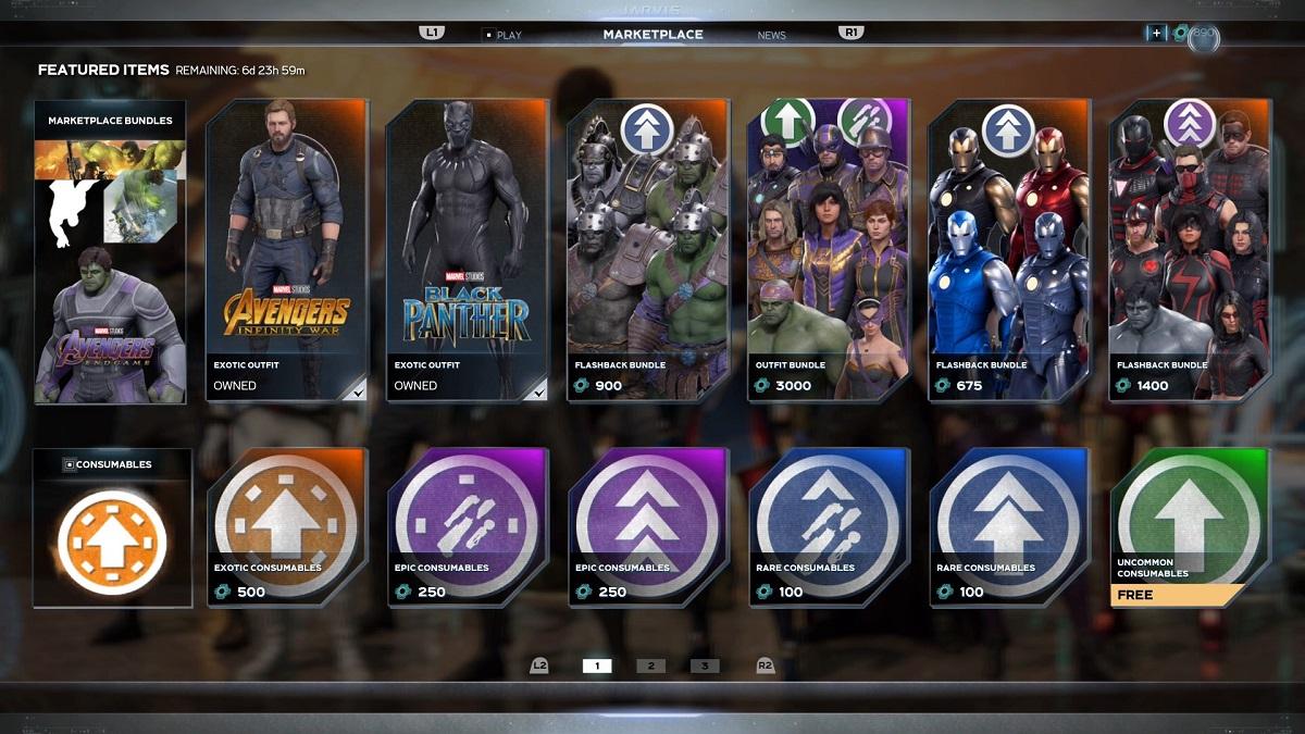 بوستر XP پولی به بازی Marvel's Avengers اضافه شد