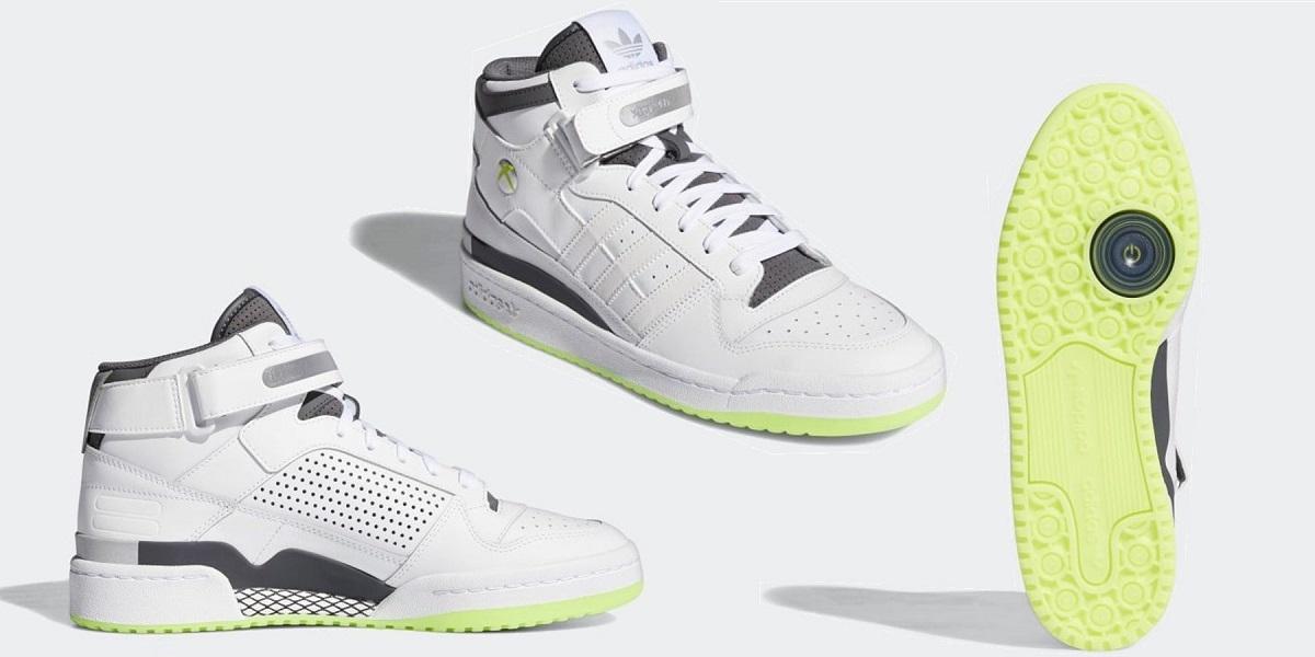 آدیداس از کفشهای ورزشی خود با طرح ایکس باکس 360 رونمایی کرد